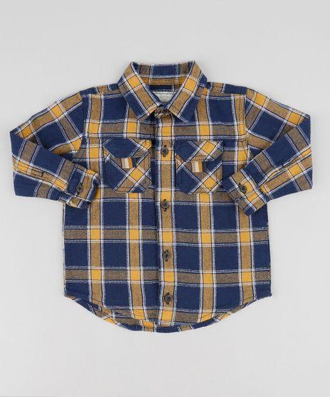 c1376b8483 Camisa Xadrez Infantil em promoção - Compre Online - Melhores Preços ...