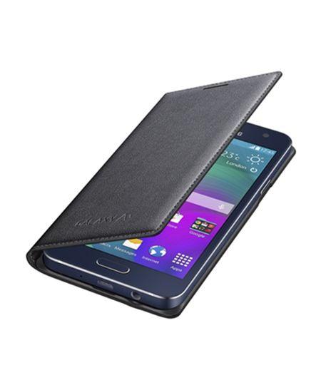 Capa Flip Cover Samsung Galaxy A3 Grafite