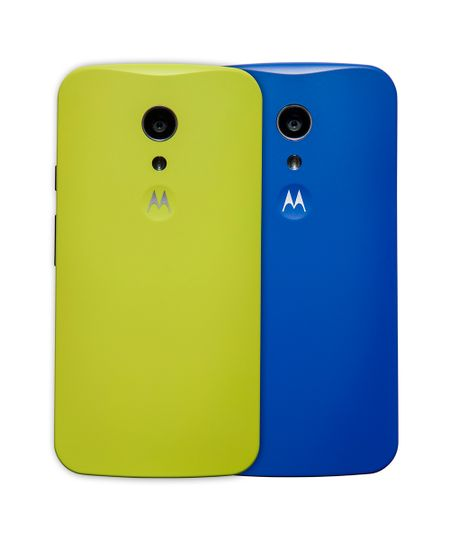 Kit com 2 Capas Motorola Shells Original para Moto G™ (2ª Geração) Multicor
