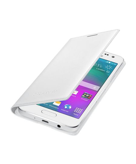 Capa Flip Cover Samsung Galaxy A3 Branco