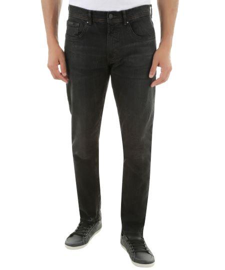 Calça Jeans Slim Preta