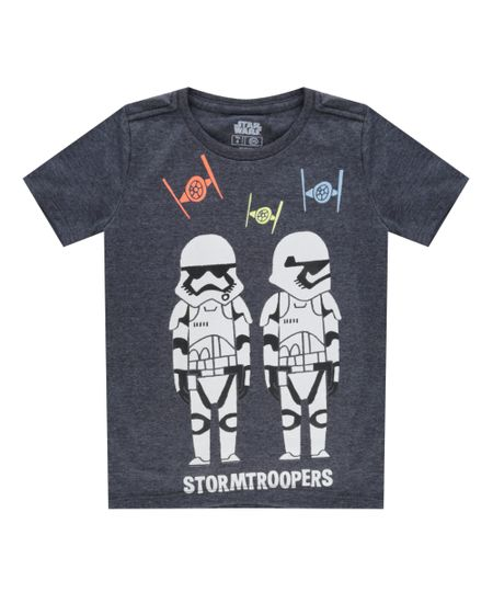 Camiseta Stormtroopers Preta