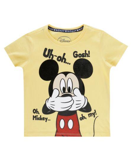 Camiseta Mickey Amarela