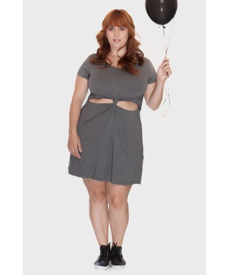 Vestido Nó Plus Size