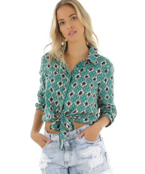 Camisa-Estampada-Trancado-Cia--Maritima-Verde-Claro-8354603-Verde_Claro_1