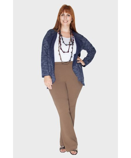 Veste Moleton Plus Size