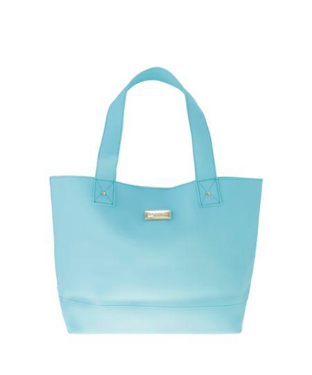 Bolsa Shopper Cia. Marítima Azul Claro