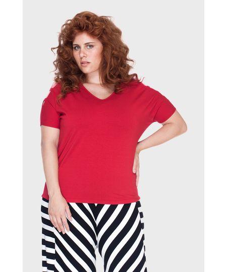 Blusa Ombro Tiras Plus Size