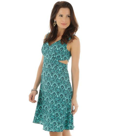 Vestido-Estampado-de-Penas-Verde-Claro-8399524-Verde_Claro_1
