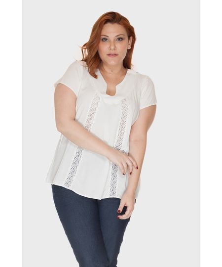 Blusa Arabesco Plus Size