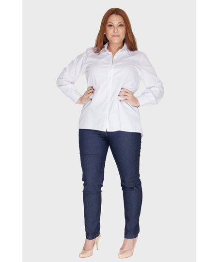 Calça Jeans Skinny Be True Plus Size