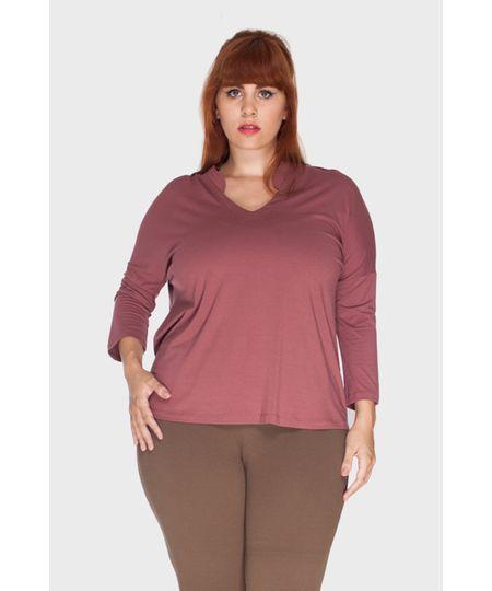 Blusa Mini Gola Plus Size