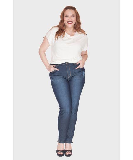 Calça Jeans True Bigodes Plus Size