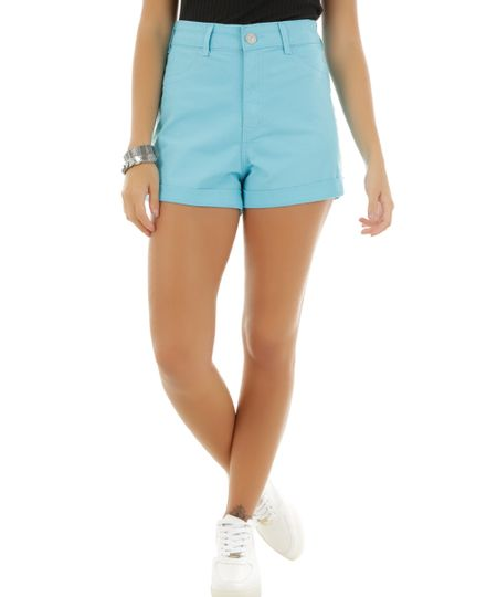 Short Hot Pant Azul Claro