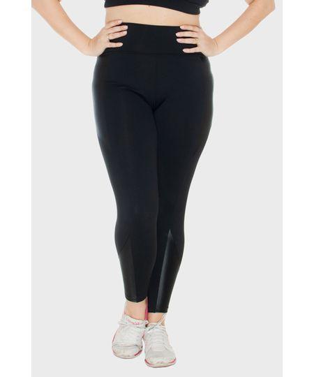 Legging Brilho Fitness Plus Size