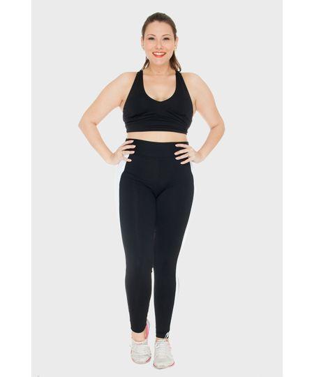 Legging Bicolor Fitness Plus Size