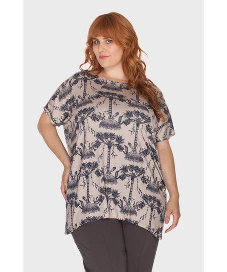 Blusa Verão Plus Size