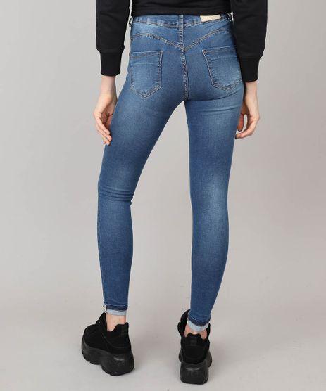aa3f8d7ad Calca Jeans Cigarrete Azul Medio em promoção - Compre Online ...