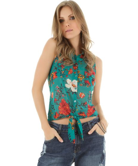 Camisa-Estampada-Floral-Verde-Agua-8385905-Verde_Agua_1