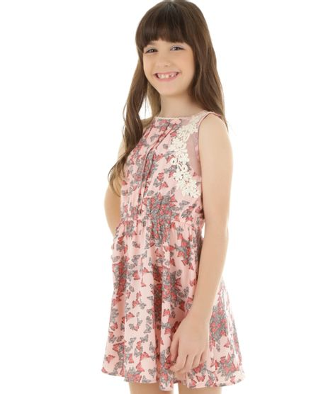 Vestido-Estampado-de-Borboletas-Rosa-Claro-8321901-Rosa_Claro_1