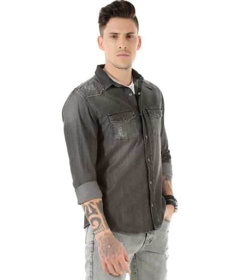 Camisa-Jeans-Preta-8450052-Preto_1