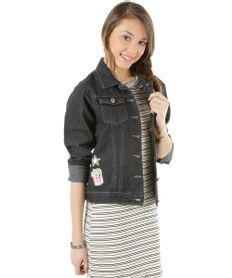 Jaqueta-Jeans--School-Queen--Preta-8447951-Preto_1