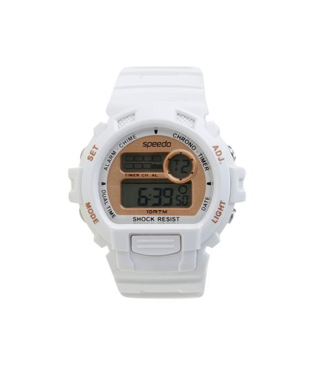 Relógio Speedo Digital Feminino - 65083L0EVNP2 Branco