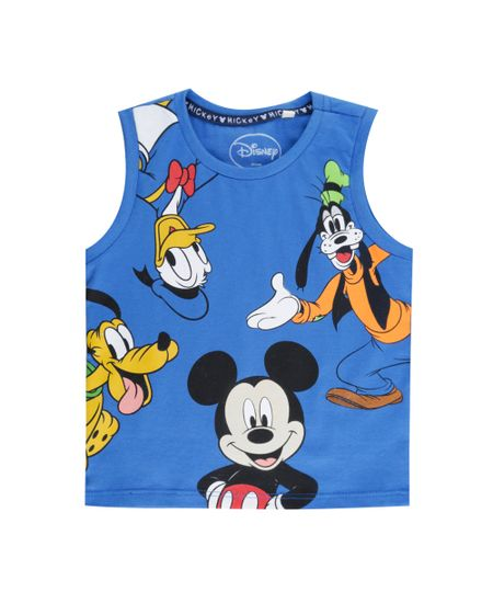 Regata Turma do Mickey Azul