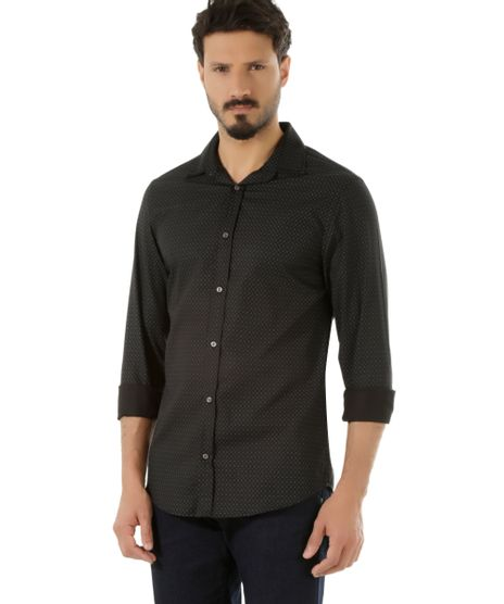 Camisa-Slim-Estampada-Preta-8490316-Preto_1