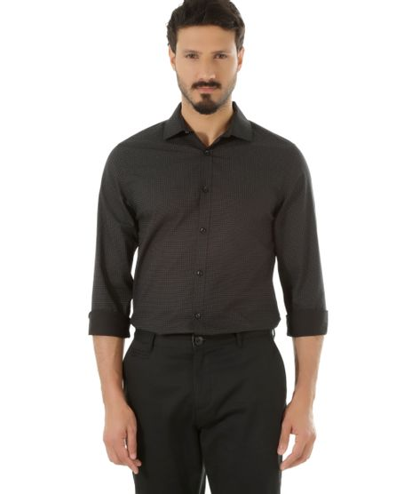 Camisa-Slim-Estampada-Preta-8436647-Preto_1