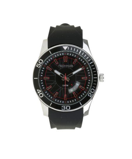 Relógio Analógico Technos Masculino -  2115KSN8P Prateado