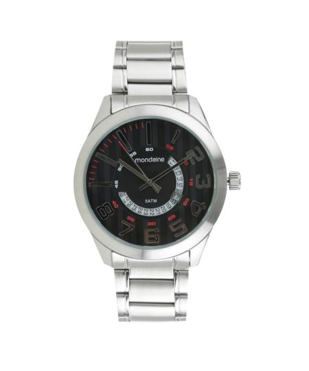 Relógio Mondaine Analógico Digital Masculino - 94828G0MVNA1 Prateado