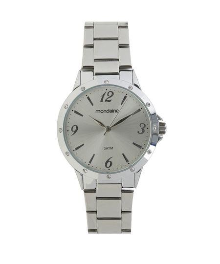 Relógio Mondaine Analógico Feminino - 83315L0MVNE1 Prateado