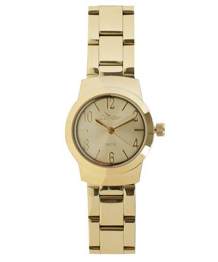 Relógio Analógico Condor Feminino -  CO2035KKV/4D Dourado