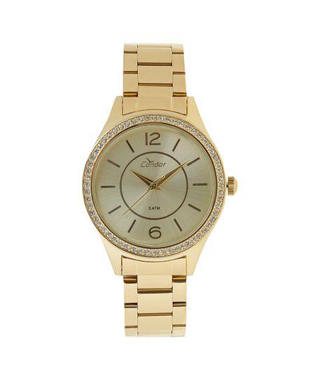Relógio Analógico Condor Feminino -  COPC21AL/4X Dourado