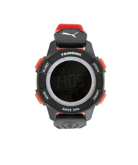 Relógio Digital Puma Masculino - 96287G0PVNP2 Preto