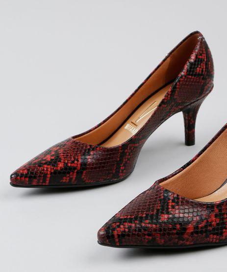 85cf8b03a6 Sapato Scarpin Feminino Vizzano em promoção - Compre Online ...