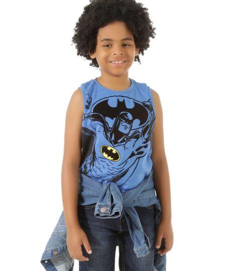 Regata Batman Azul