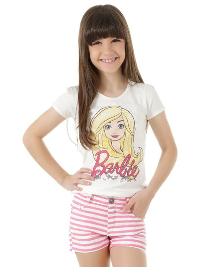 Blusa Barbie Off White