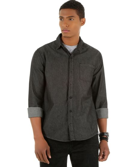 Camisa-Jeans-Preta-8439418-Preto_1
