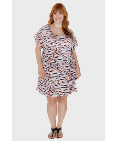 Saída August Tigresa Plus Size