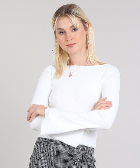 471d354a78 Camisa Branca Feminina em promoção - Compre Online - Melhores Preços ...