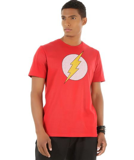 Camiseta Flash Vermelha