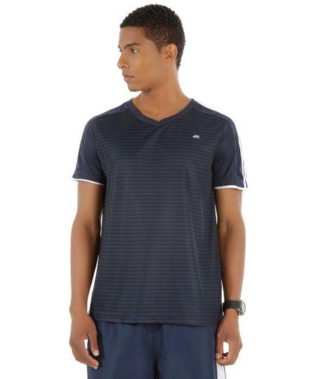 Camiseta Ace Dry Azul Marinho