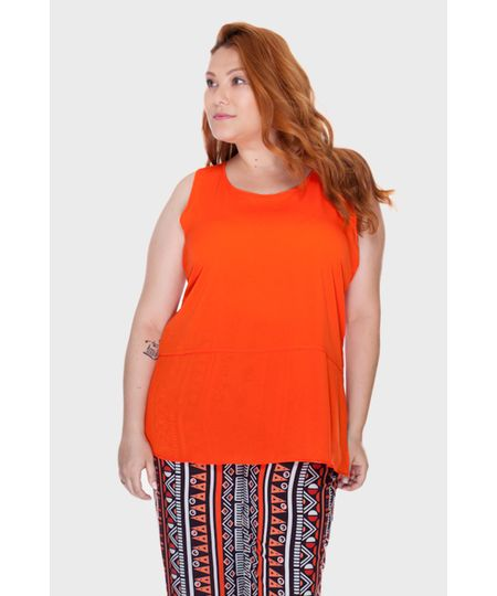 Regata Fenda Plus Size