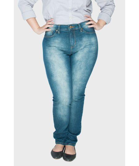 Calça Jeans Skinny Moderna Plus Size