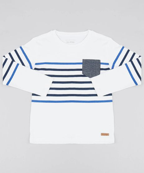 cfc929e9a0 Camisa Toda Branca Masculina em promoção - Compre Online - Melhores ...