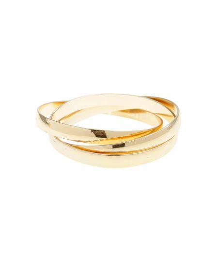 Bracelete Triplo Dourado