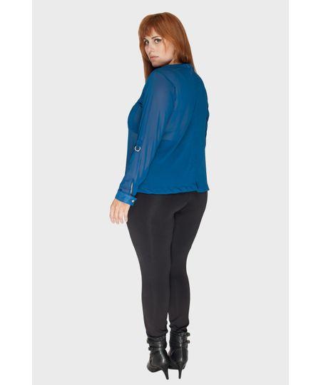 Blusa Crepe Egito Plus Size
