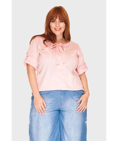 Camisa Saint Tropez Plus Size